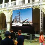 China Full Color P3.91 Outdoor Rental Led Screen Wall For Advertising 42 Months Warranty wholesale