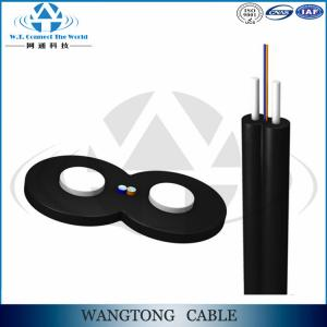 China Drop cable bow- type single core multimode OM3 fiber optic cable GJXH on sale