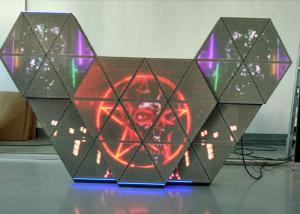 China P5 façade polychrome de cabine de la musique LED DJ avec l'angle de vue large pour des studios/barres de TV on sale