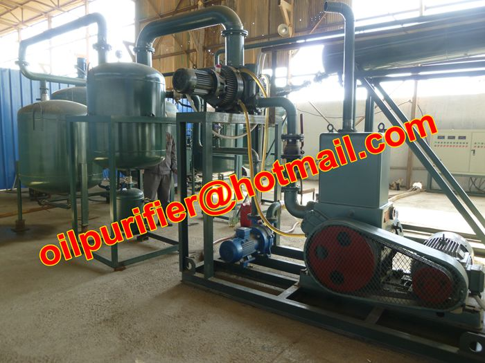 Used Car Motor Oil Distillation Refinery Machine Waste