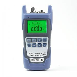 China Light Weight Fiber Optic Power Meter SC FC ST Light Source Battery Powered on sale