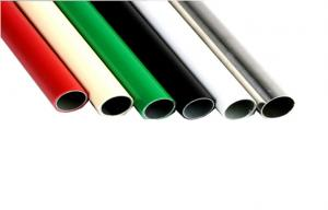 China PE / ABS Coated Steel Pipe And Flexible PVC Pipe For Pipe Racking System on sale