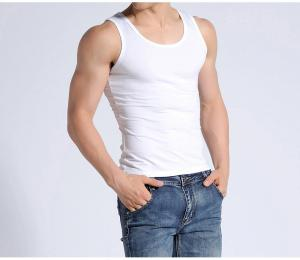 China UV Protective Compression Vest For Adults , Mens Compression Vest Adsorbing Sweat on sale