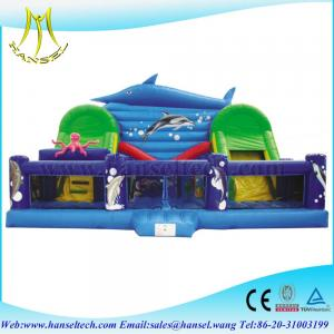 China Hansel high quality commercial inflatable amusement play house for kids on sale