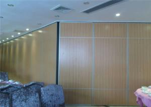 China Multi - Functional Hall Wooden Partition Wall Wooden Wall Panel Foldable on sale