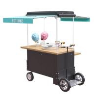 China Catering 350w Rear Wheel Disc Brake Bike Food Cart on sale