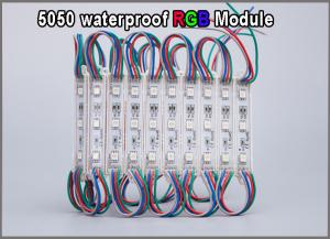 China 12V RGB 5050 LED modules lamp for advertisment signage backlight on sale