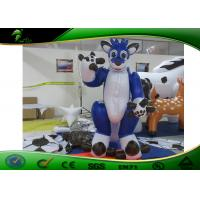 Inflatable Cartoon Characters , Double PVC Layers Inflatable Dragon Costume For Kids