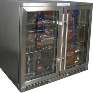 Bar Fridges CTB 210 SS Integrated Front Venting Stainless Steel Glass Door  Bar