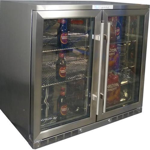 Gl Door Bar Refrigerator Gallery Doors Design Ideas