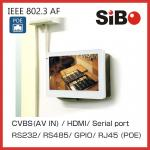 Wall Mounted 7 Inch Industrial Control Terminal Android 6 Panel With POE 802.3af 48V