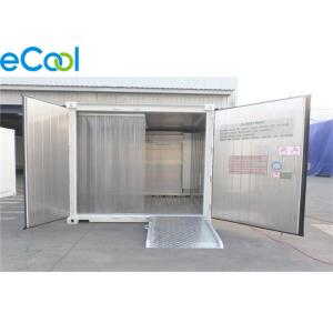 China PUR Panel Assembling Mini Cold Storage Below 100 Tons For Fresh Keeping Fruits on sale