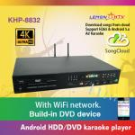 Professional home ktv karaoke player hd jukebox with songs cloud,support  H.265 video, build in AGC/AVC