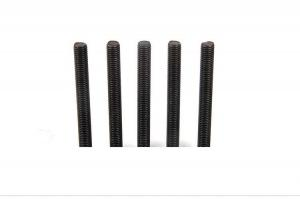 China Metal Weldable Hardened Threaded Rod?Shaft M3-M24 Size With Hex Flange Nuts on sale