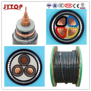 China 10kV Copper conductor PVC Insulation Power Cable on sale