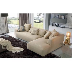 Quality Софы ткани бежевого цвета современные, итальянская софа б/ткани б конструируют for sale