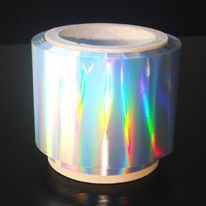 China Arco iris que ralla la lámina para gofrar caliente olográfica on sale