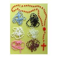 China plastic rosary,religious rosary,beautiful rosary on sale