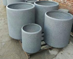 China Factory sales high strength waterproof durable outdoor stackable planter pot on sale