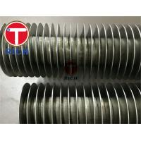 China ASTM A213 Stainless Steel Fin Tube 1100 Aluminum Fin Embedded In 304 Tube on sale