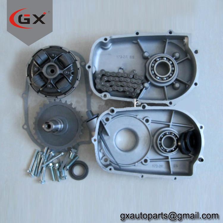 ATV Go Kart Spare Parts 1/2 Reduction Clutch Kart Gearbox