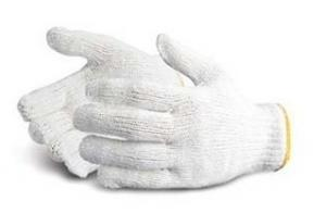 China cotton knitted glove on sale