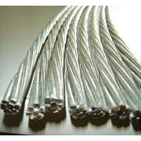 China 0.5mm-5.0mm Galvanized Steel Cable Wire Rod , Tensile Strength 1000-1750 MPA on sale