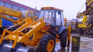 China 2005 used backhoe jcb 4cx with hammer on sale