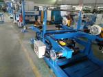 Blue Color Wire Extrusion Machine Algeria Building Cable Extruder Machine Production Line