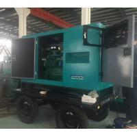 30kw Soundproof Cummins diesel generator  37.5 kva generator with trailer  three phase  fast delivery