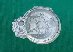 China Silver Finish Metal Die Casting Motorcycle Parts , CNC Machining Part on sale