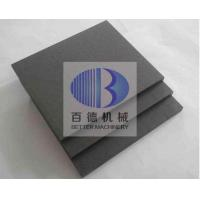 China Wear Resistant Silicon Carbide Plate , Ceramic SIC Plate ISO 9001 Approved on sale