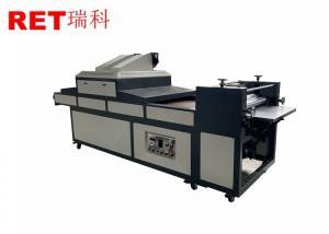 China Mechanical Driven Paper Packing Machine , Semi Automatic UV Varnish Coating Machine on sale
