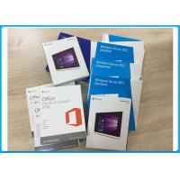 Window10 Pro 32 Bit / 64 Bit Full Retail Box USB Flash Drive + OEM Key License