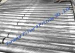 Margin Hole Free Area Reserved For Longitudinal Welded Perforated Metal Tube / SS304 316