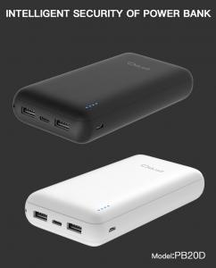 China Ultra High Capacity Mobile Phone Charger Power Bank 20000mah Lithium Polymer Battery on sale