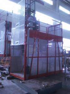 China Goods Electric Passenger Hoist Elevator , Construction Site Elevator on sale