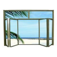 Electrophoretic Coated Aluminium Window Profiles 6063 / 6060 T5 Alloy