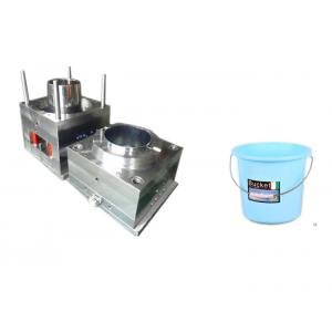 High Standard 20 Liter Plastic Bucket Mould Perfect Surface Finish Heat Resistance