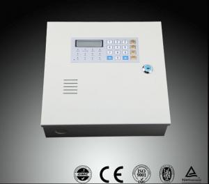 China 8 Wired Zone + 8 Wireless Zone Telephone Home Alarm System with LCD Display on sale