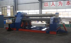 China 3000mm Width Plate Rolling Machine 75KW Motor Power Bending Thickness 55mm on sale