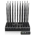 World First 18 antennas all-in-one  5.2G 5.8G all frequencies Signal jammer With Remote Control