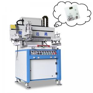 China PLC Control Silk Screen Printing Machine / Flatbed Screen Printing Machine on sale