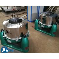 China Sewage Treatment Industrial Basket Centrifuge SS 304 / 316L With Rapid Speed Rotary Drum on sale