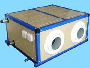 China 4rows Fresh Air Ventilator With Ahu Machine Air Handlers on sale