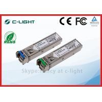 20km SMF BIDI Fiber Optic Transceiver 155M 100BX , SFP Transceiver Module