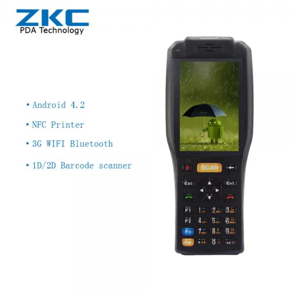 Android bluetooth RFID Reader terminal , qr code handheld