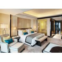 Luxury Bedroom Sets With 8 Seaters Dining Table , Hotel Luxury Furniture Environment - Friendly