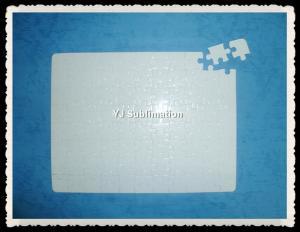 China Blank sublimation jigsaw puzzle 19.2*25.2-88pcs on sale