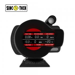 China DO916 Sensor Sinco Tech Dash Digital Led Tachometer Rpm Speed Meter on sale